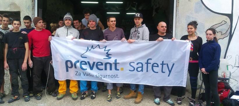 Prevent Safety supported memorial boulder competition BORIS TRAJKOVSKI 2015